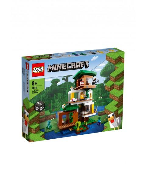LEGO Minecraft - Nowoczesny domek na drzewie 21174 - wiek 9+