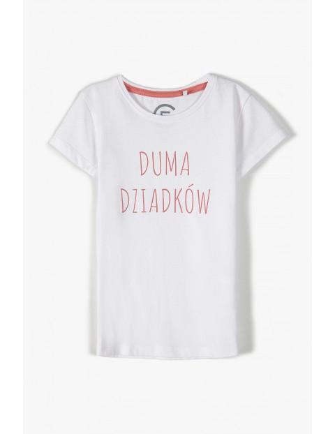 T-shirt dla dziewczynki- Duma dziadków