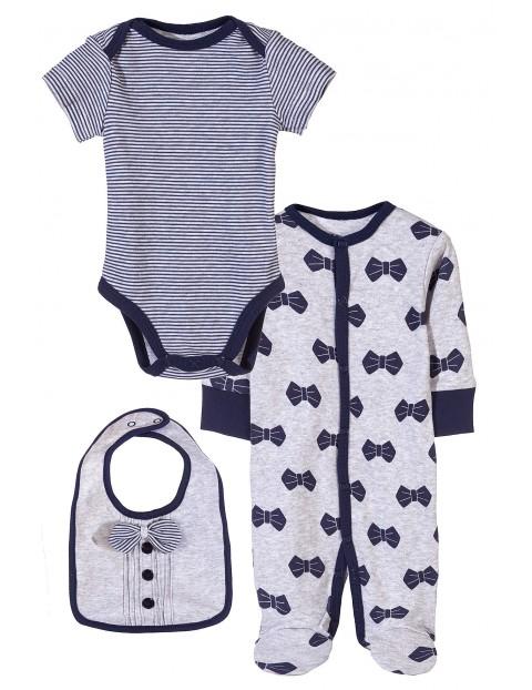 Komplet niemowlęcy bawełniany 5W3425