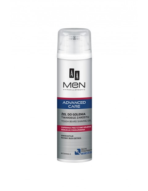AA Men Advanced Care Żel do golenia twardego zarostu 200 ml