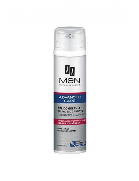 AA Men Advanced Care Żel do golenia twardego zarostu 200 ml