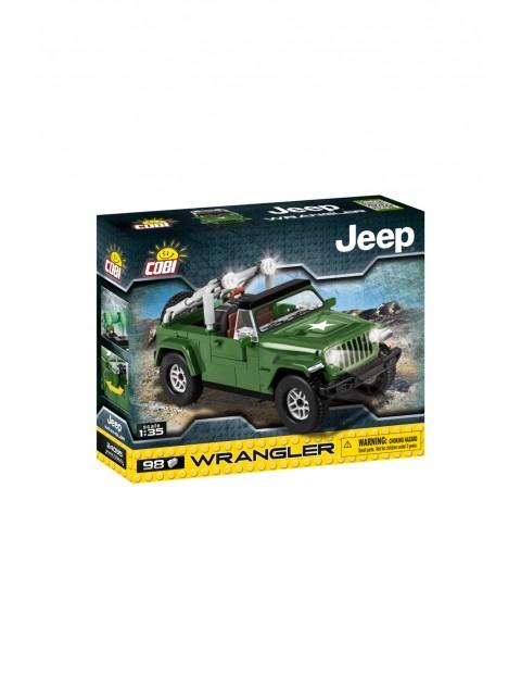 Klocki COBI Jeep WranglerMilitary-98el