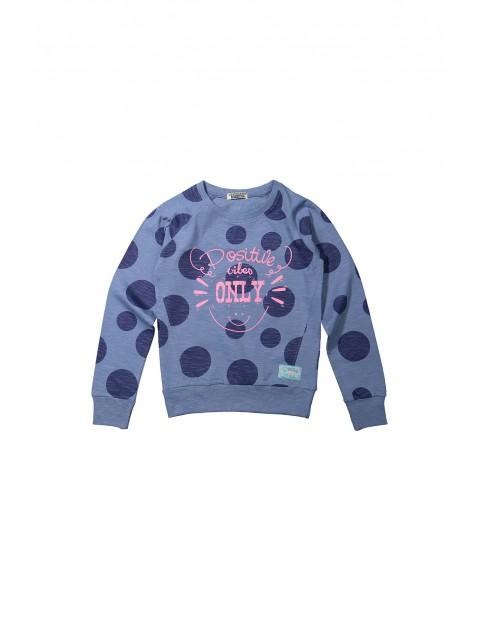 Bluza dresowa dziewczęca 4F34A3