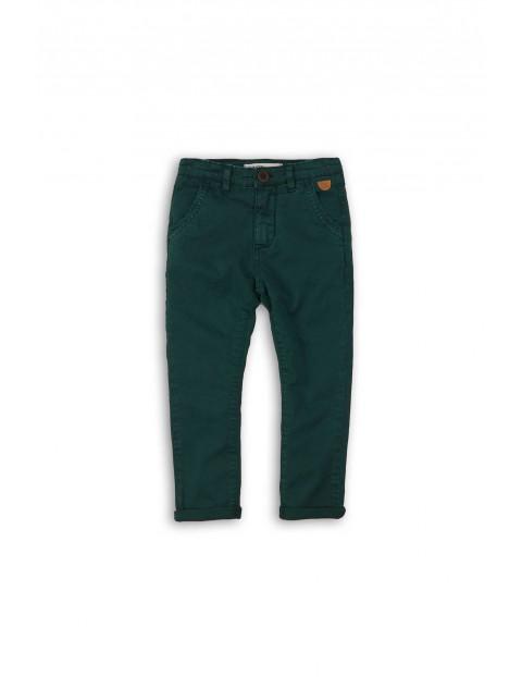 Zielone spodnie dla chłopca- chinosy rozm 92/98