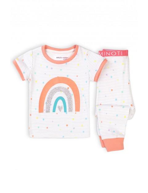 Piżama niemowlęca dwuczęściowa z tęczą