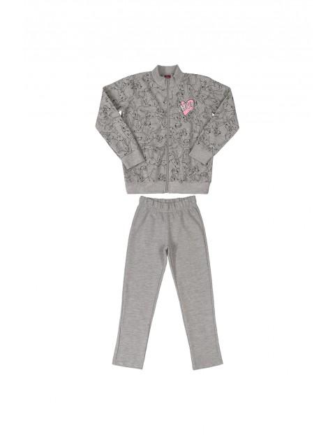 Komplet dresowy - bluza rozpinana i spodnie dresowe