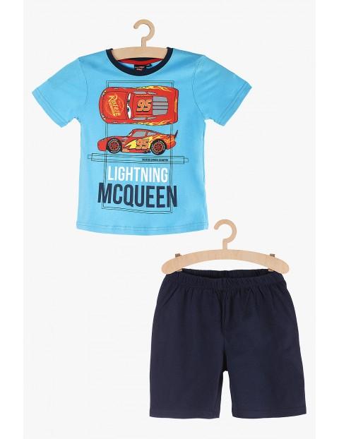 Pidżama chłopięca niebieska Zygzak McQueen