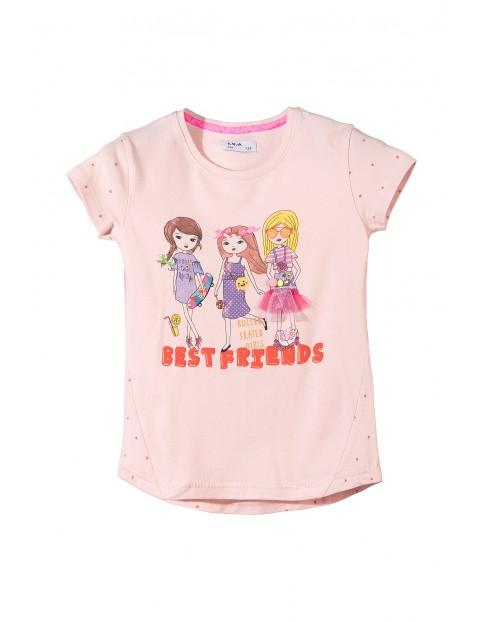 T-shirt dziewczęcy 3I3432