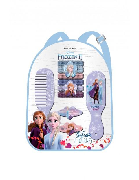 Zestaw akcesoriów do włosów w plecaku 10el.  Frozen