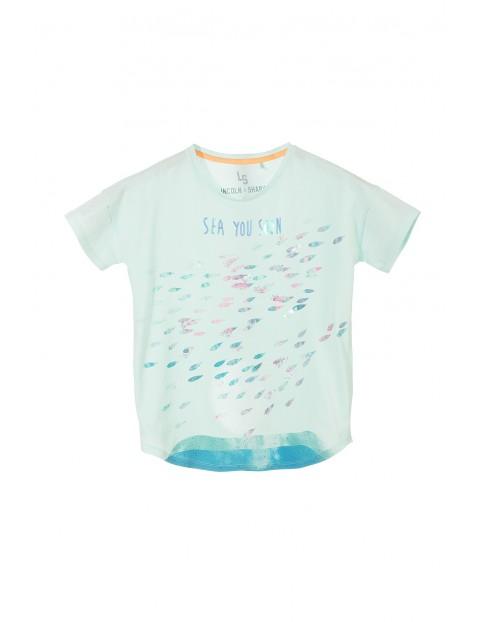 T-shirt dziewczęcy 4I3225