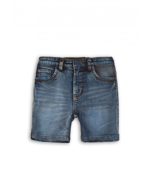Szorty jeansowe chłopięce- niebieskie