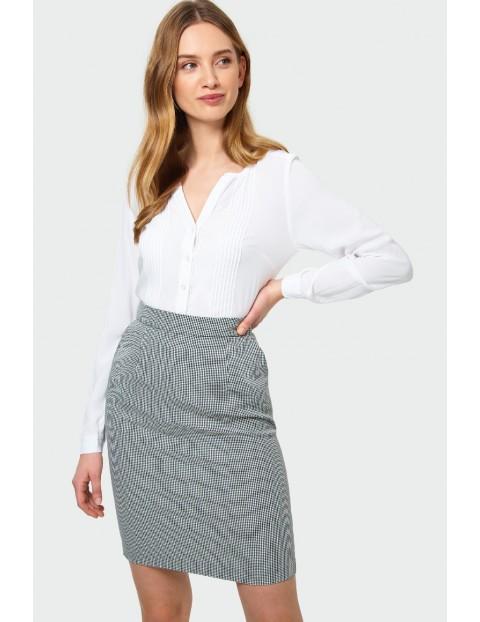 Bluzka damska rozpinana biała