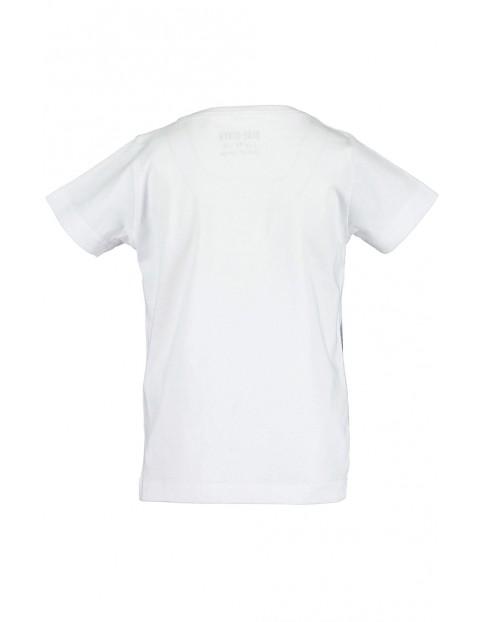 Koszulka dziewczęca biała z konikami
