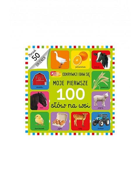 Książka dla dzieci- Moje Pierwsze 100 Słów Na Wsi