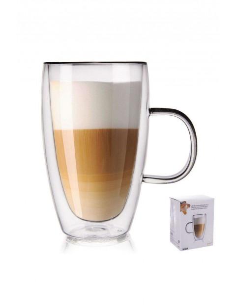 Szklanka termiczna z podwójną ścianką do kawy 430 ml