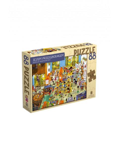 Puzzle Jestem Przedszkolakiem 88el
