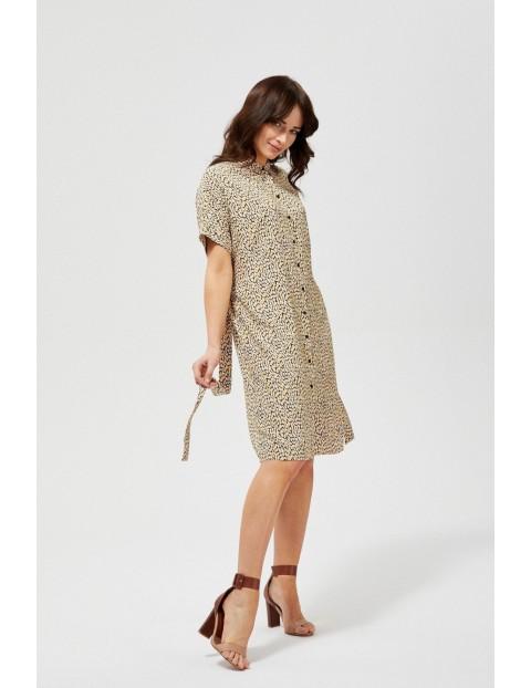 Sukienka damska z ciekawym wzorem