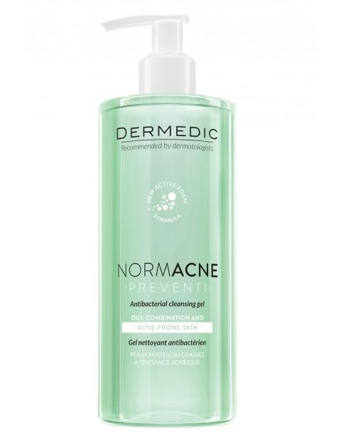 NORMACNE antybakteryjny żel do mycia twarzy 500 ml