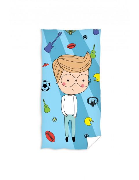 Ręcznik kąpielowy dla chłopca 70x140 cm