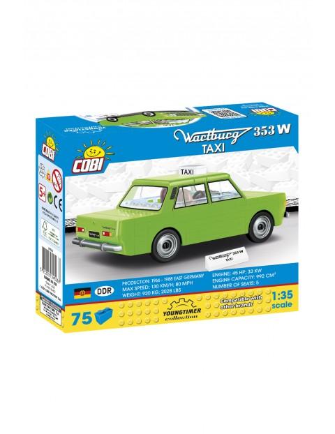 Klocki COBI 24528 Wartburg 353W Taxi Youngtimer Collection - 75 elementów