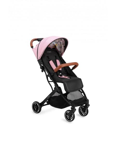 Momi ESTELLE wózek spacerowy Kolekcja LOVE - czarno-różowy wiek 6msc+