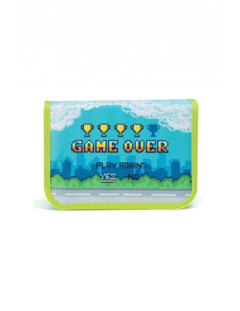 Piórnik z wyposażeniem Game Over