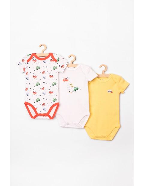 Body niemowlęce 3-pak