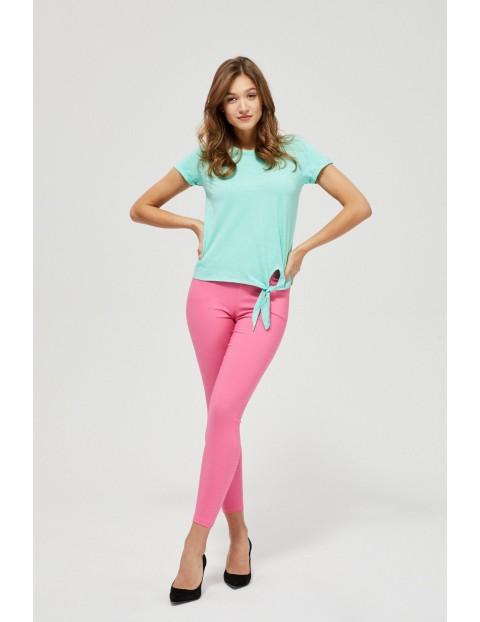Spodnie damskie różowe- rurki