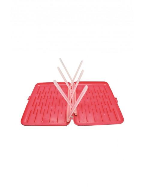 Suszarka na butelki i smoczki, różowa B.BOX
