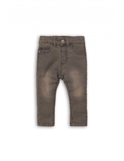 Spodnie niemowlęce jeansowe 5L35AS