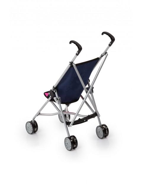 Wózek dla lalek Buggy z jednorożcem - granatowy