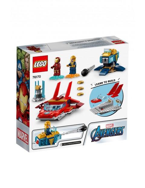Lego Super Heroes - Iron Man kontra Thanos - 103el wiek 4+