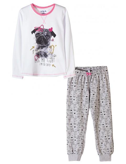 Pidżama dziewczęca 4W3502