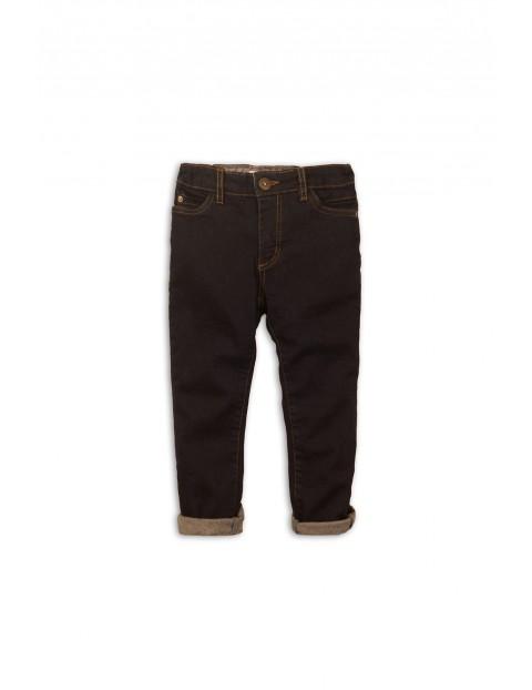 Spodnie chłopięce jeansowe z kieszeniami- czarne