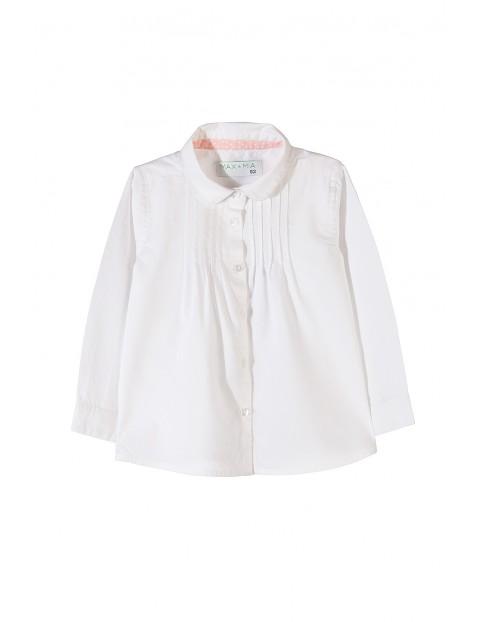 Koszula dziewczęca biała 3J3502