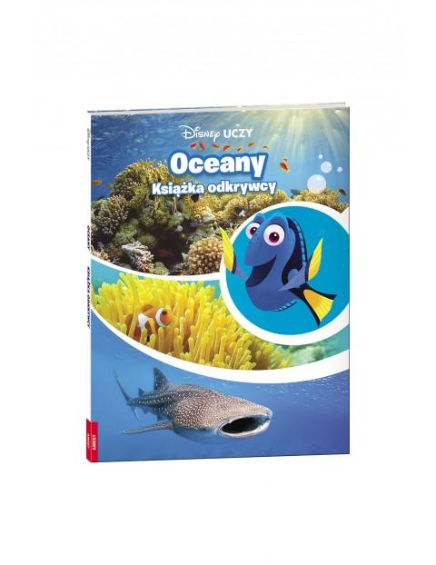 Disney uczy- Oceany. Książka odkrywcy