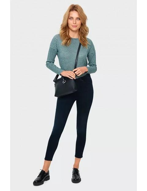 Spodnie damskie slim- czarne