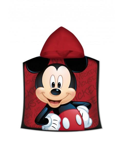 Poncho kąpielowe dziecięce Myszka Miki o wymiarach 100 x 50 cm