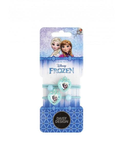 Gumki do włosów Frozen zestaw