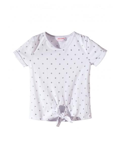 T-shirt dziewczęcy 4I3417