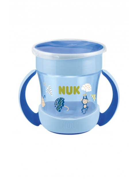 NUK Kubek Mini Magic Cup z uchwytem niekapek - 150ml  niebieski wiek 6msc+