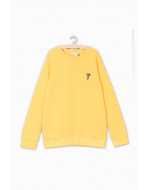 Bluza dresowa dla dziewczynki- żółta