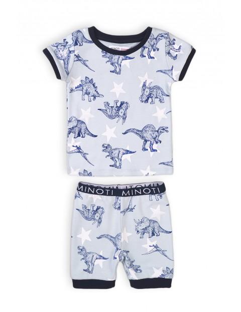 Piżama chłopięca dwuczęściowa w dinozaury