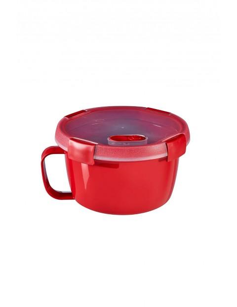 Pojemnik MICRO-WAVE czerwony Curver 0,9l