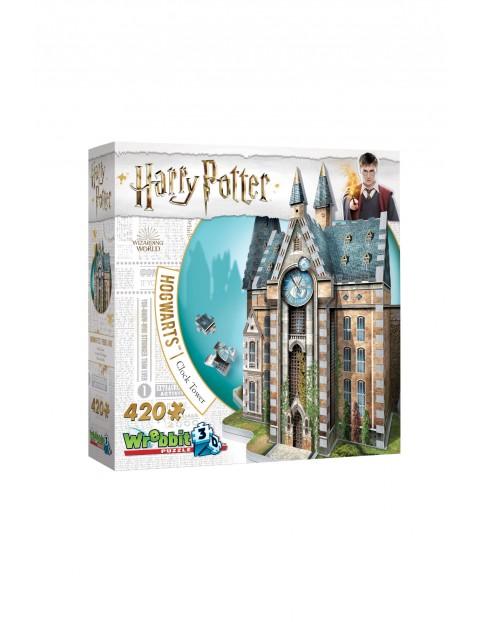 Wrebbit 3D puzzle Harry Potter HOGWARTS CLOCK TOWER 420 elementów