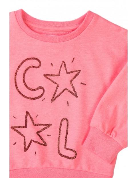 Bluza dziewczęca różowa nierozpinana Cool