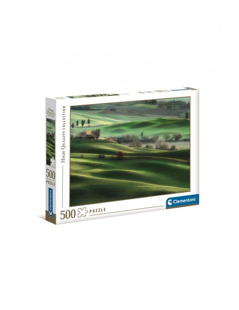 Puzzle Wzgórza Toskanii - 500  elementów