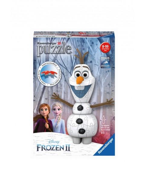 Puzzle Frozen 2 - 3D Olaf - 54 elementy 8+