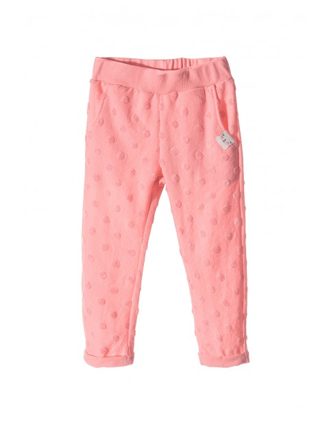 Spodnie dresowe dziewczęce 3M3412