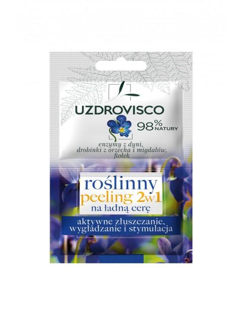 Aktywny peeling 2w1 na ładną cerę Uzdrovisco10 ml